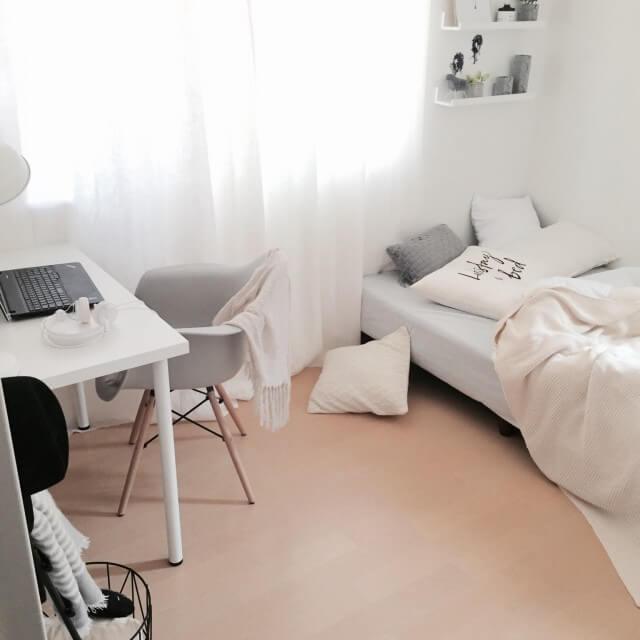 6畳ワンルームでもおしゃれな女子部屋に インテリア実例集