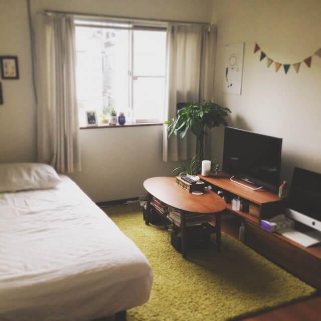 一人暮らしのインテリアとコーディネートの決め方: 6畳ワンルームでもおしゃれな女子部屋に! インテリア実例集