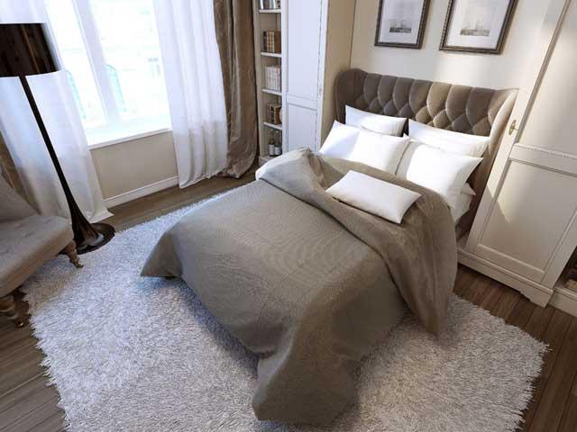 寝室にぴったりなインテリア。風水も意識して、お気に入りの ...