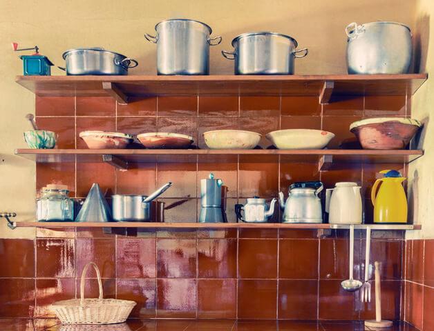 新しいキッチン収納