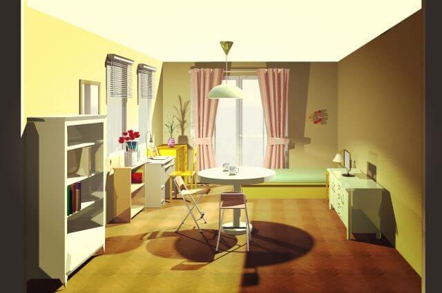 1k 家具 配置