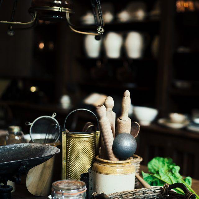 狭いキッチンの収納アイデア