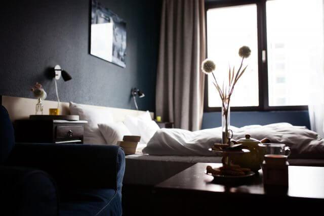 1K・ベッドや家具のサイズ