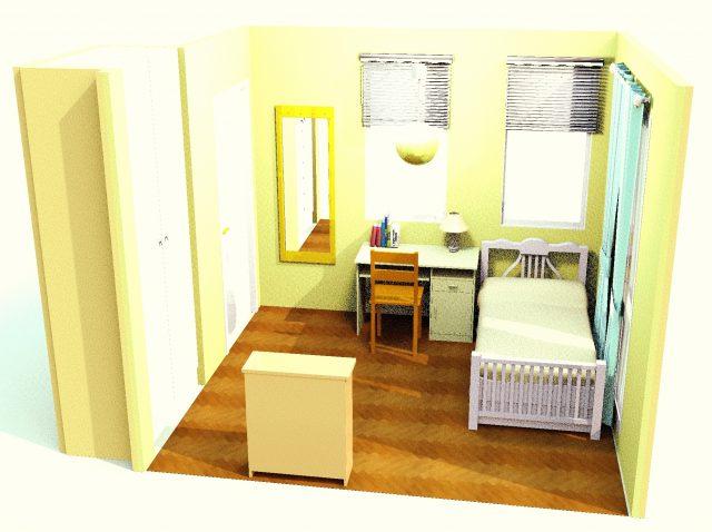 4畳から8畳まで。子供部屋にぴったりなレイアウトを探そう!