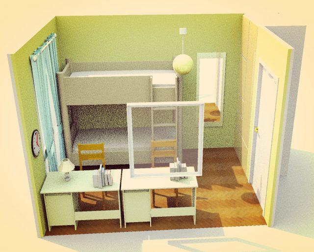4畳から8畳まで子供部屋にぴったりなレイアウトを探そう